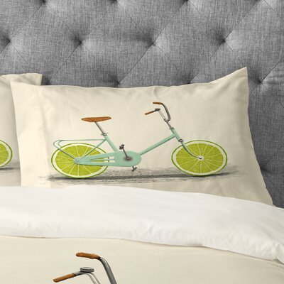 Florent Bodart Acid Pillowcase Size: King