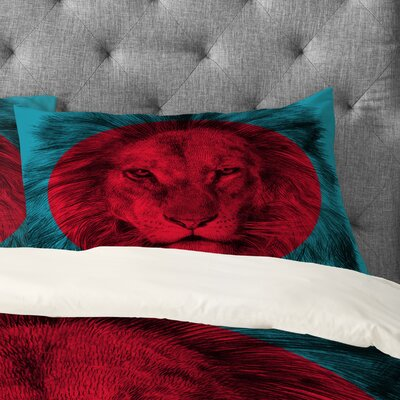 Garima Dhawan Wild 5 Pillowcase Size: King