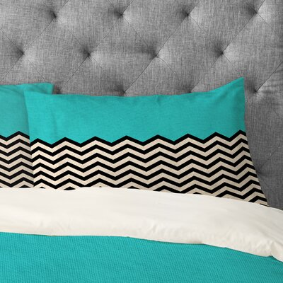 Bianca Green Follow The Sky Pillowcase Size: Standard