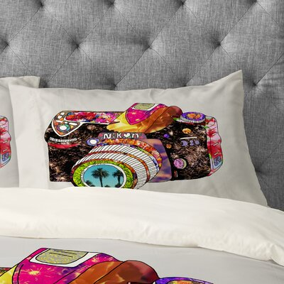 Bianca Green Picture This Pillowcase Size: King