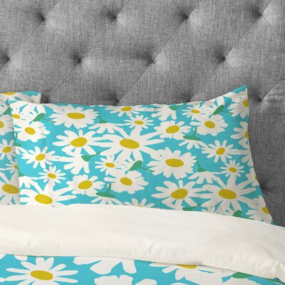 Zoe Wodarz Daisy Do Right Pillow Case Size: King