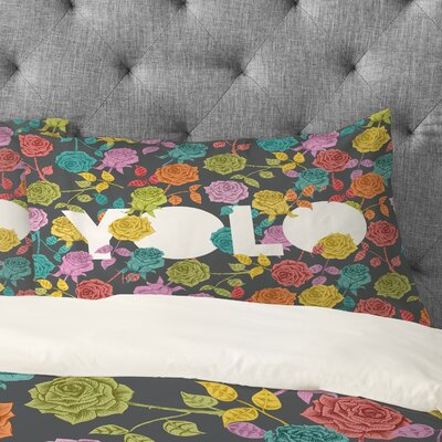 Bianca Multi Yolo Pillowcase Size: King