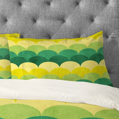 Arcturus Scales Pillowcase Size: King