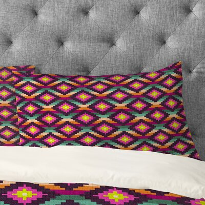 Bianca Green Aztec Diamonds Hammock Pillowcase Size: Standard