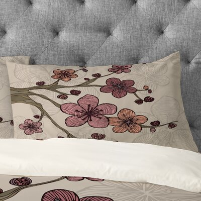 Valentina Ramos Blossom Pillowcase Size: King