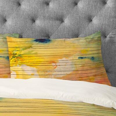 Susanne Kasielke Stripy Collage Pillowcase Size: Standard