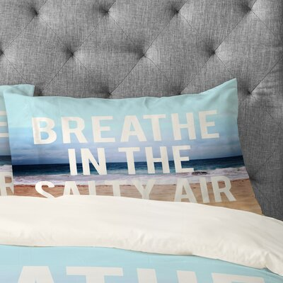 Leah Flores Breathe Pillowcase Size: Standard