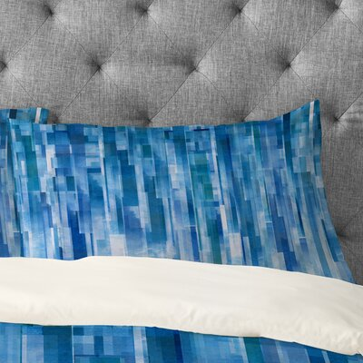 Jacqueline Maldonado Rain Pillowcase Size: Standard, Color: Blue