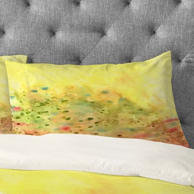 Rosie Brown Jeweled Pebbles Pillowcase Size: King
