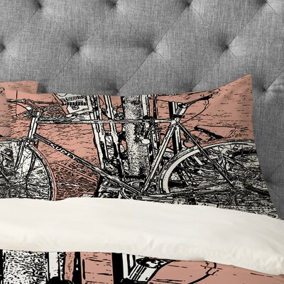 Romi Vega Bike Pillowcase Size: Standard