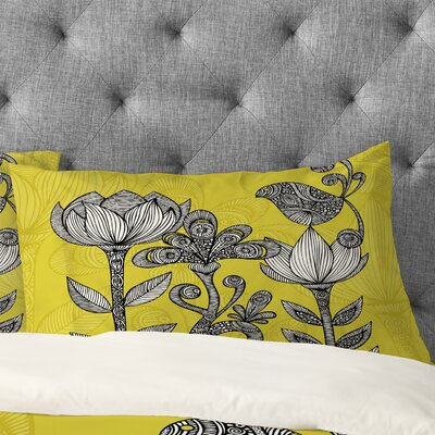 Valentina Ramos Garden Pillowcase Size: King