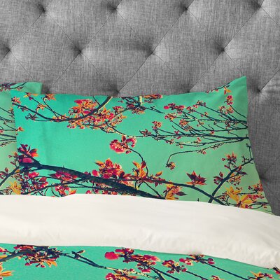 Shannon Clark Summer Bloom Pillowcase Size: King