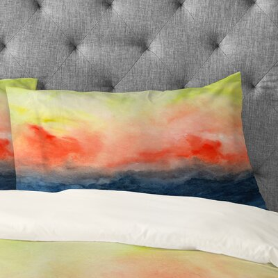 Jacqueline Maldonado Brushfire Pillowcase Size: King