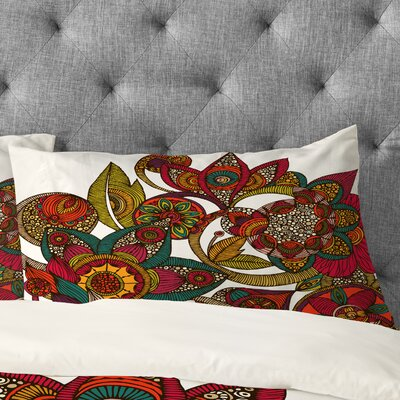 Valentina Ramos Garden Ava Pillowcase Size: King