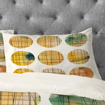 Susanne Kasielke Squared Circle Pillowcase Size: King