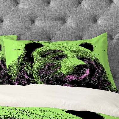 Romi Vega Bear Pillowcase Size: Standard