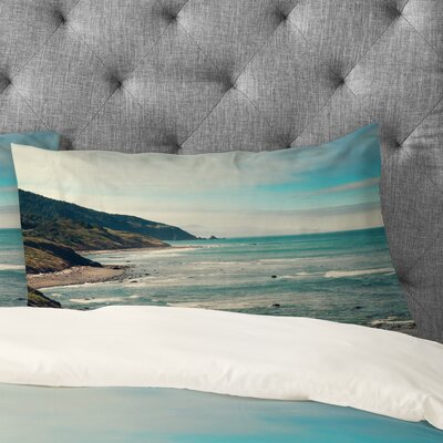 Catherine McDonald California Pacific Coast Highway Pillowcase Size: Standard