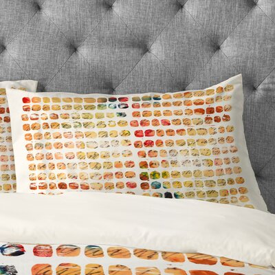 Susanne Kasielke Funny Blocks Pillowcase Size: King