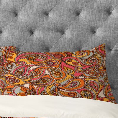 Valentina Ramos Spring Paisley Pillowcase Size: King