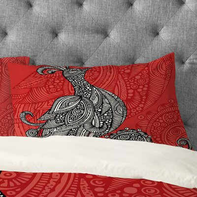 Valentina Ramos The Bird Pillowcase Size: King