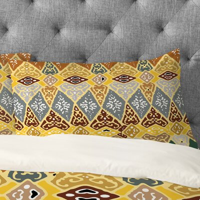 Romi Vega Diamond Tile Pillowcase Size: King