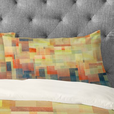 Jacqueline Maldonado Cubism Dream Pillowcase Size: King