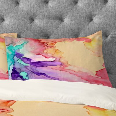 Rosie Brown My World Pillowcase Size: Standard