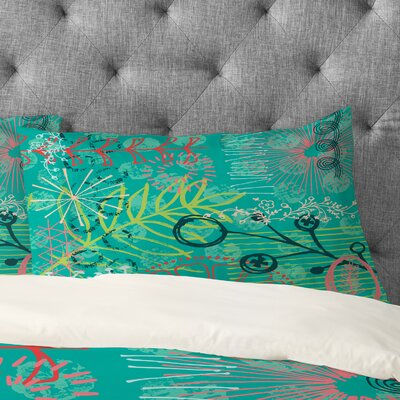 Kerrie Satava Summer Burst Pillowcase Size: King