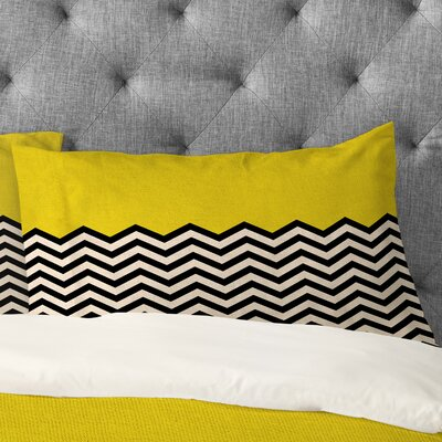 Bianca Yellow Follow The Sun Pillowcase Size: Standard