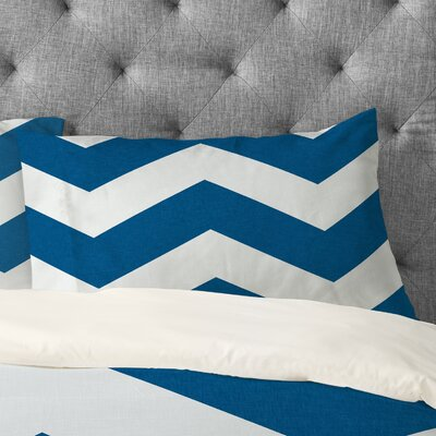 Holli Zollinger Chevron Pillowcase Size: King