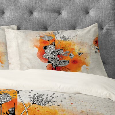 Iveta Abolina Forbbiden Thoughts Pillowcase Size: King