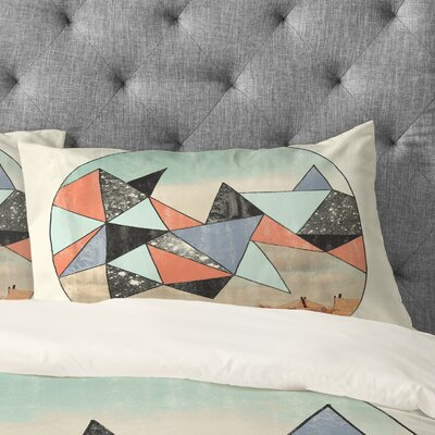 Wesley Bird Dry Spell Pillowcase Size: King
