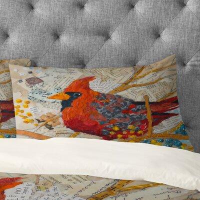 Elizabeth St Hilaire Nelson Cardinal Pillowcase Size: King