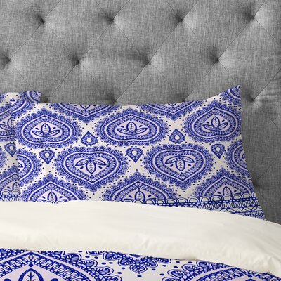 Aimee St Hill Decorative Pillowcase Size: Standard, Color: Blue