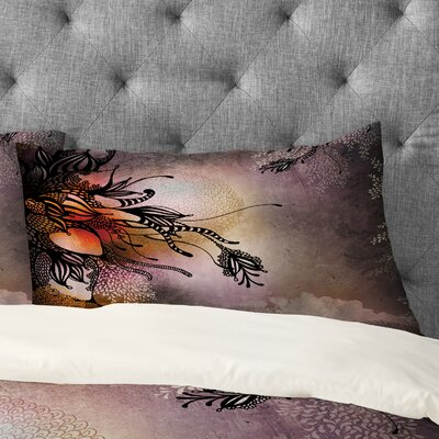 Iveta Abolina Rain Pillowcase Size: King