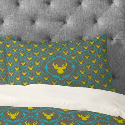 Bianca Green Oh Deer 3 Pillowcase Size: Standard