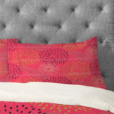 Kerrie Satava Surprise Bloom Pillowcase Size: King