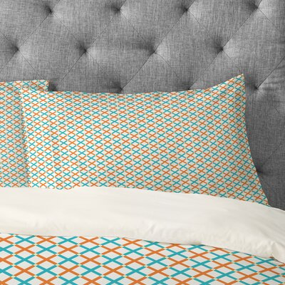 Tammie Bennett X Check Pillowcase Size: Standard