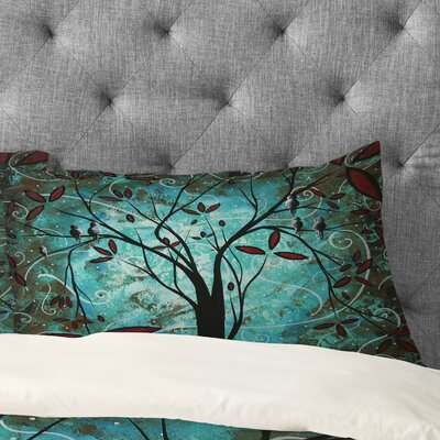 Madart Inc Romantic Evening Pillowcase Size: Standard