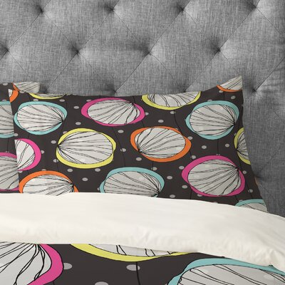 Rachael Taylor Scribble Shells Pillowcase Size: King