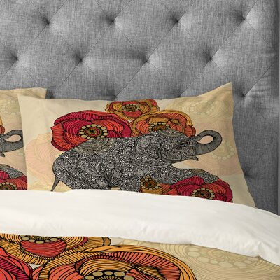 Valentina Ramos Rosebud Pillowcase Size: King