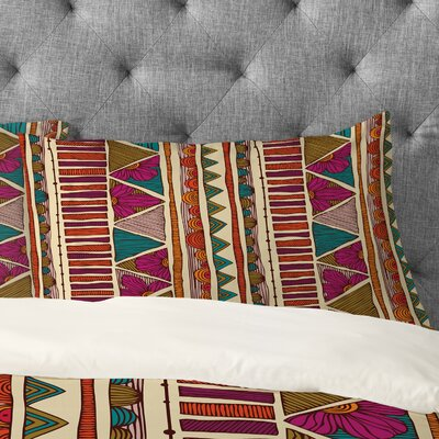 Valentina Ramos Ethnic Patchwork Pillowcase Size: King