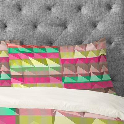 Jacqueline Maldonado Pyramid Scheme Pillowcase Size: King