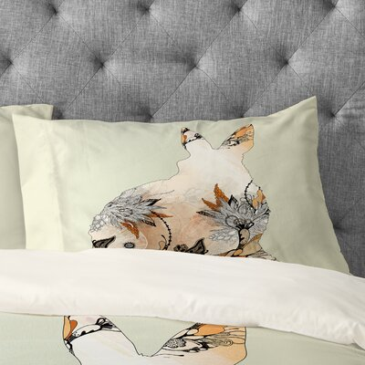 Iveta Abolina Little Rabbit Pillowcase Size: King