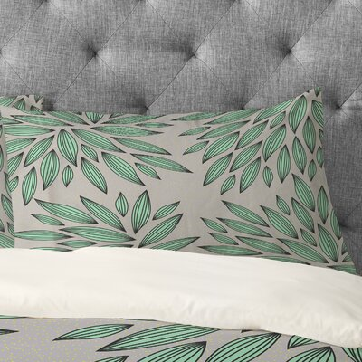 Gabi Mint Pillowcase Size: King