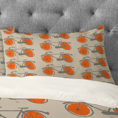 Mummysam Bicycles Pillowcase Size: King