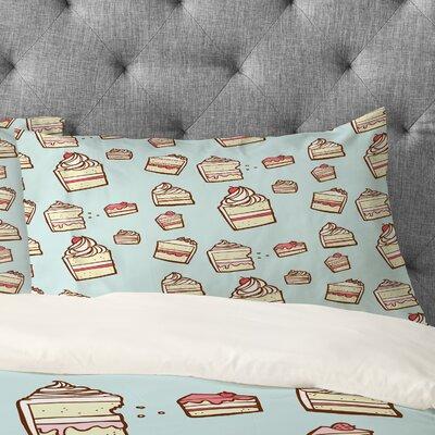 Jennifer Denty Cake Slices Pillowcase Size: Standard