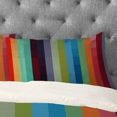 Striped Pillowcase Size: King