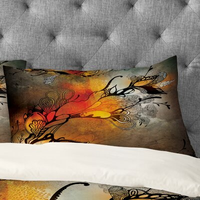 Iveta Abolina Before The Storm Pillowcase Size: King