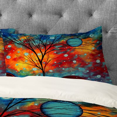 Summer Snow Pillowcase Size: King